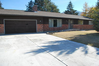 Missoula MT Single Family Home For Sale: $325,000