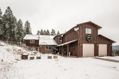 Flathead County Single Family Home For Sale: 160 Rocking Chair Trail