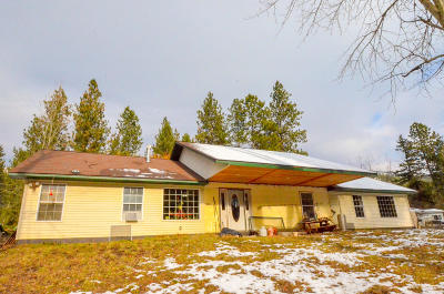 Missoula Single Family Home For Sale: 10849 Rustic Road