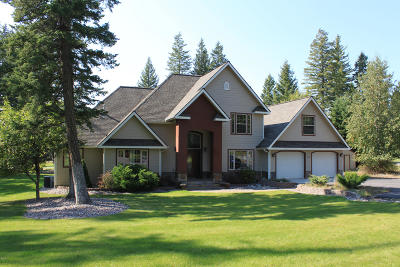 Columbia Falls Single Family Home For Sale: 62 Tamarack Ridge