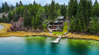 Flathead County Single Family Home For Sale: 227 Hawks Lake Lane
