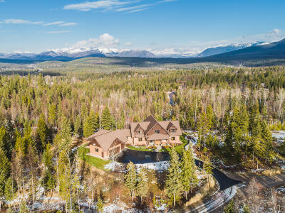 Columbia Falls, Hungry Horse, Martin City, Coram Single Family Home For Sale: 1492 Glacier Hills Drive