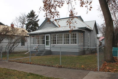 Kalispell Single Family Home Under Contract Taking Back-Up : 228 4th Avenue East