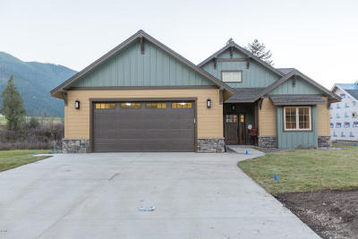 Missoula Single Family Home For Sale: 505 Cahill Rise