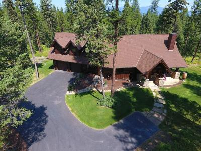 Flathead County Single Family Home For Sale: 1200 Whitefish Hills Drive