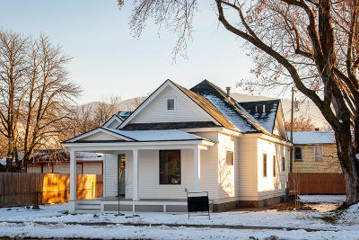Missoula Single Family Home Under Contract Taking Back-Up : 139 Mount Avenue