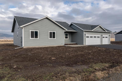 Flathead County Single Family Home Under Contract Taking Back-Up : 243 Swiss Drive