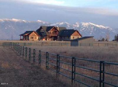 Flathead County Single Family Home For Sale: 176 Pinnacle Road