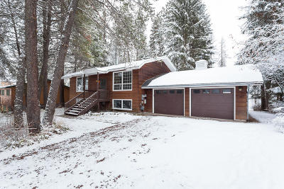 Whitefish Single Family Home For Sale: 143 Wedgewood Lane