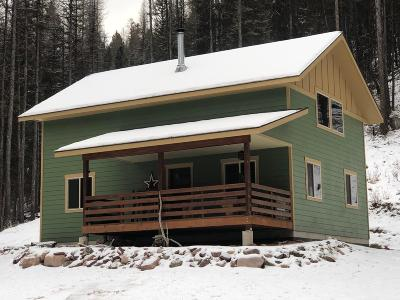 Seeley Lake Single Family Home Under Contract Taking Back-Up : 425 Pyramid Loop