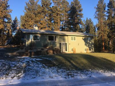 Florence MT Single Family Home Under Contract with Bump Claus: $349,000