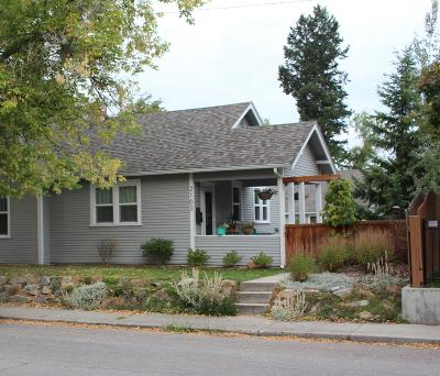 Missoula Single Family Home Under Contract Taking Back-Up : 2103 Ronald Avenue