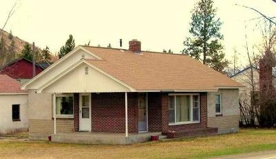 Missoula Single Family Home Under Contract Taking Back-Up : 2108 Rattlesnake Drive