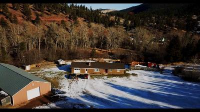 Cascade County, Lewis & Clark County, Lewis And Clark County, Teton County Single Family Home For Sale: 1910 Lyons Creek Road