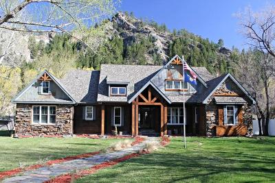 Cascade County, Lewis & Clark County, Lewis And Clark County, Teton County Single Family Home For Sale: 32 River Drive
