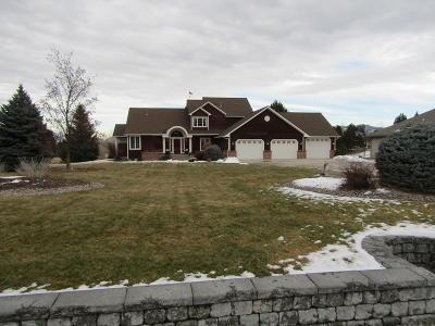 Missoula County Single Family Home For Sale: 2550 Triple Creek Drive