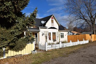Saint Ignatius MT Single Family Home For Sale: $165,500