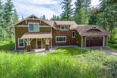 Bigfork Single Family Home For Sale: 91 Bear Paw Loop