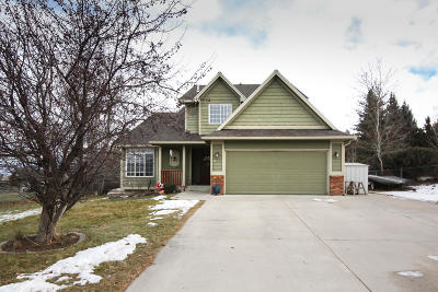 Missoula Single Family Home Under Contract Taking Back-Up : 3510 Southpointe Drive