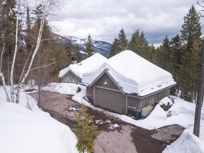 Whitefish Single Family Home Under Contract Taking Back-Up : 119 Ridge Run Drive