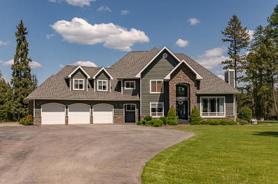 Flathead County Single Family Home For Sale: 1163 Martin Creek Lane