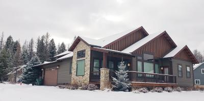 Whitefish Single Family Home For Sale: 375 Sawtooth Drive