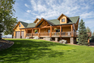 Flathead County Single Family Home For Sale: 127 Wishart Road