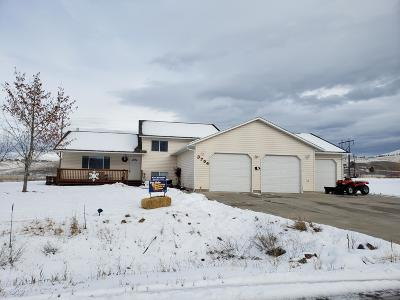 Missoula Single Family Home Under Contract Taking Back-Up : 3704 Rodeo Road