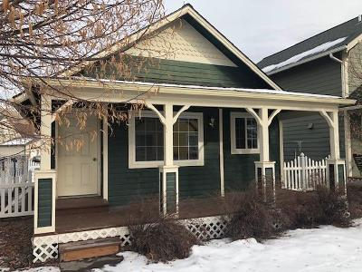 Missoula Single Family Home Under Contract Taking Back-Up : 4759 Adalaide Lane