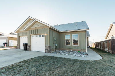 Kalispell Single Family Home Under Contract Taking Back-Up : 164 Jackson Peak Drive