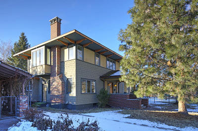 Missoula Single Family Home For Sale: 417 East Central Avenue