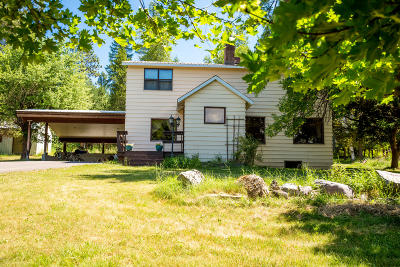 Whitefish Single Family Home Under Contract Taking Back-Up : 125 Armory Road