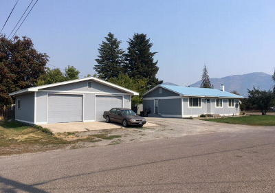 Columbia Falls, Hungry Horse, Martin City, Coram Single Family Home Under Contract Taking Back-Up : 259 1st Street West