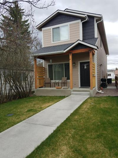 Missoula Single Family Home For Sale: 2107 Kensington Avenue
