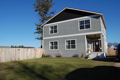 Kalispell Single Family Home Under Contract Taking Back-Up : 513 Scenic River Way
