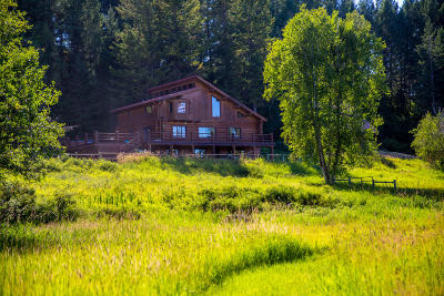 Flathead County Single Family Home For Sale: 470 Whitefish Trail