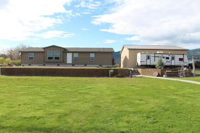 Plains Single Family Home Under Contract Taking Back-Up : 7334 Montana Highway 200