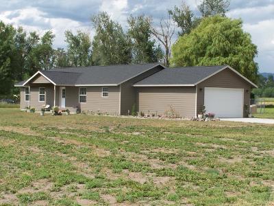 Stevensville Single Family Home For Sale: No # Middle Burnt Fork Road