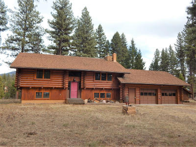 Seeley Lake MT Single Family Home For Sale: $342,000
