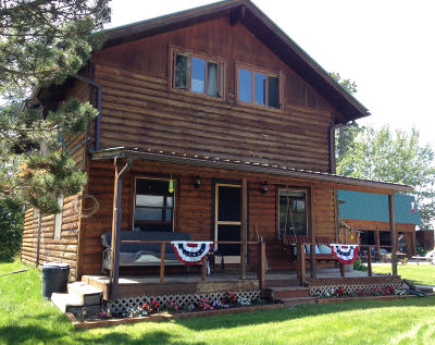 Flathead County Single Family Home Under Contract Taking Back-Up : 2298 Riverside Road