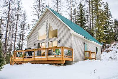Flathead County Single Family Home For Sale: 3925 North Fork Road