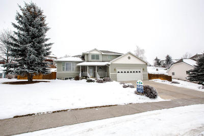 Missoula Single Family Home Under Contract with Bump Claus: 4085 Kaleigh Court