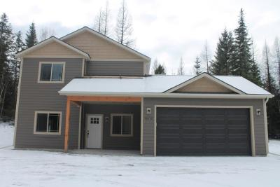 Flathead County Single Family Home For Sale: 564 Peaceful Drive