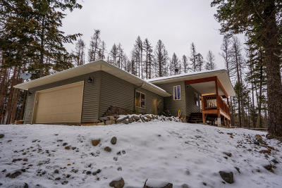 Kalispell Single Family Home Under Contract Taking Back-Up : 125 Autumn Lane