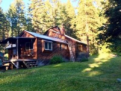 Kalispell Single Family Home Under Contract Taking Back-Up : 745 O'neil Creek Road