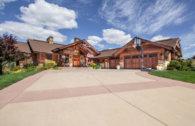 Missoula Single Family Home Under Contract Taking Back-Up : 5419 Canyon River Road