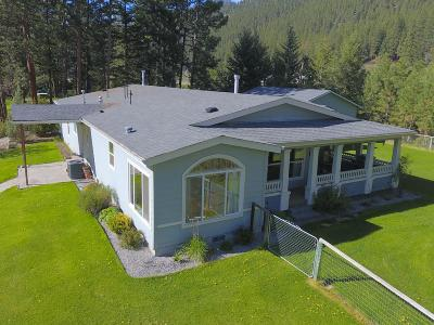 Missoula Single Family Home Under Contract Taking Back-Up : 10971 Rustic Road