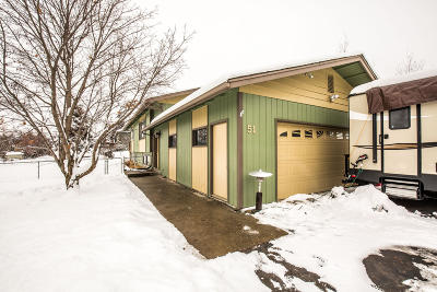 Kalispell Single Family Home Under Contract Taking Back-Up : 51 Konley Drive