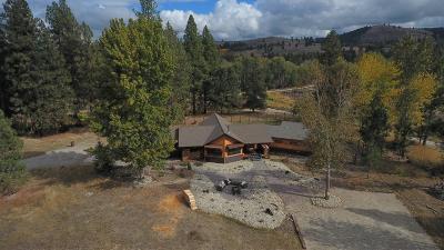 Hamilton Single Family Home For Sale: 1566 Ward Mountain Lane