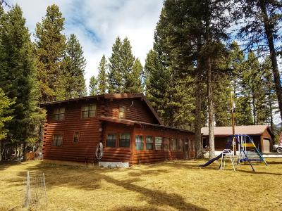 Seeley Lake Single Family Home For Sale: 196 Moose Lane